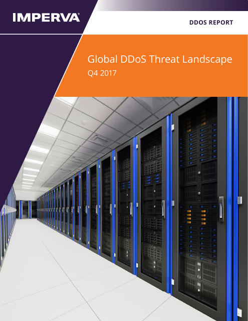image from Global DDoS Threat Landscape Q4 2017