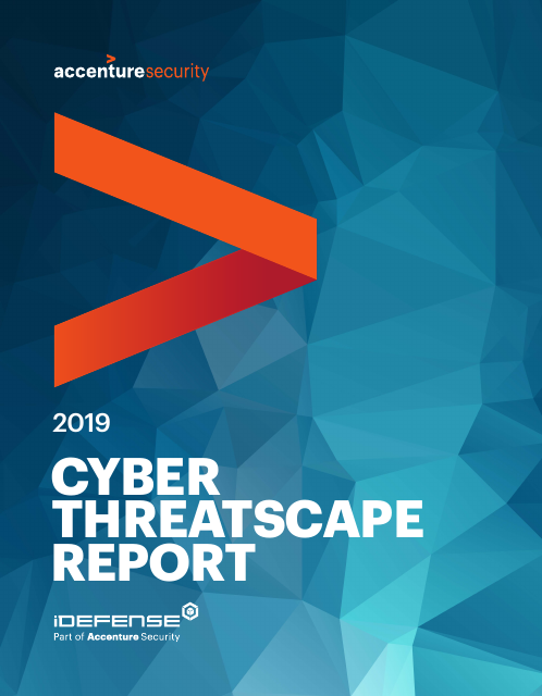 image from 2019 Cyber Threatscape Report