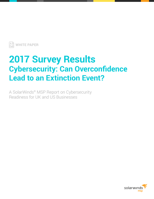 image from 2017 Survey Results Cybersecurity: Can Overconfidence Lead to an Extinction Event?
