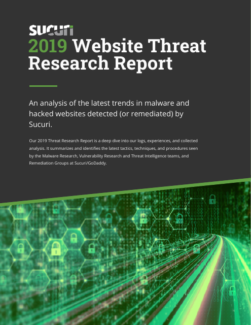 image from 2019 Website Threat Research Report