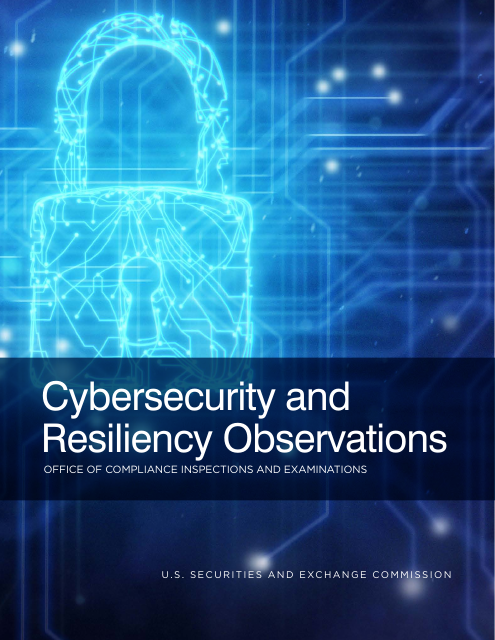 image from Cybersecurity and Resiliency Observations