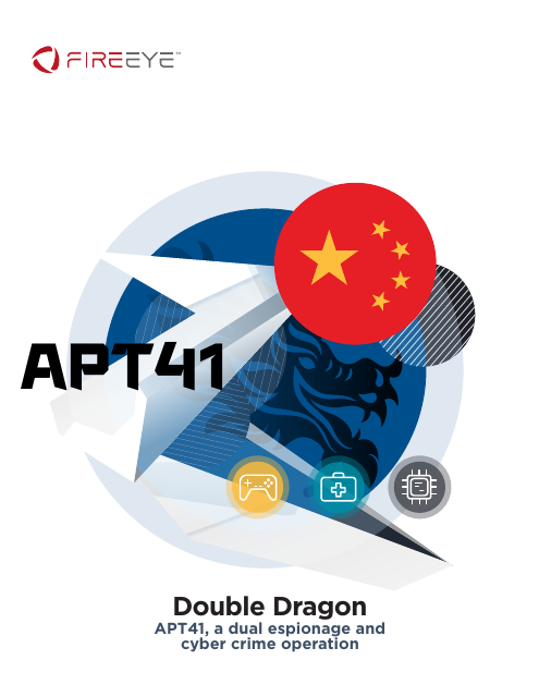 image from Double Dragon: APT41, a dual espionage and cyber crime operation