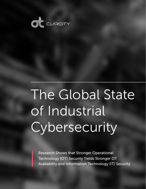 image from The Global State of Industrial Cybersecurity