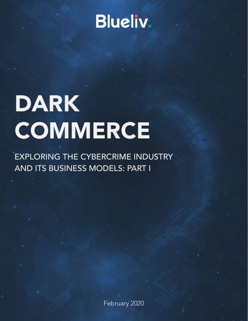 image from Dark Commerce: Exploring the Cybercrime Industry and it's Business Models