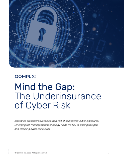 image from Mind the Gap: The Underinsurance of Cyber Risk