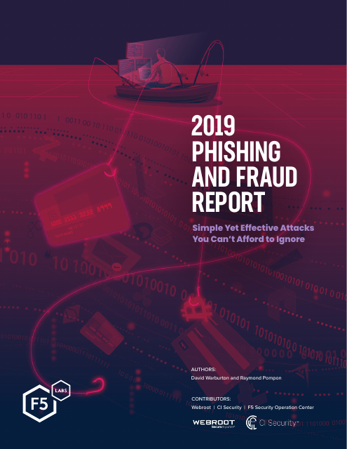 image from 2019 Phishing and Fraud Report
