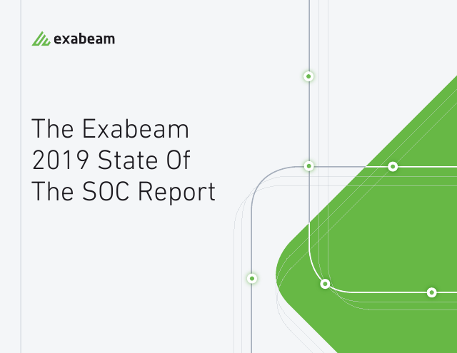 image from Exabeam 2019 State of The SOC Report