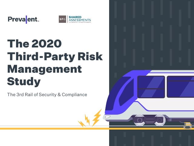 image from The 2020 Third-Party Risk Management Study