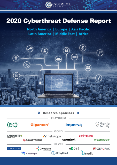 image from 2020 Cyberthreat Defense Report