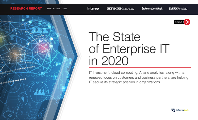 image from The State of Enterprise IT in 2020