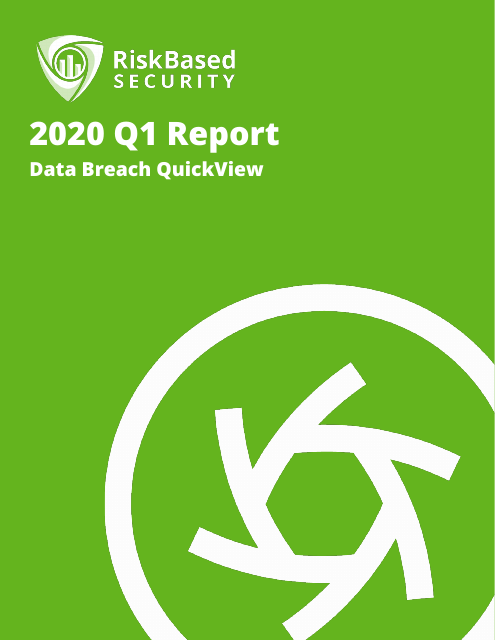 image from 2020 Q1 Report Data Breach QuickView