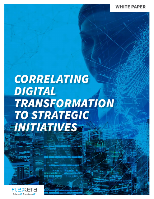 image from Digital Transformation to Strategic Initiatives