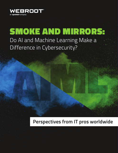 image from Smoke and Mirrors: Do AI and Machine Learning Make a Difference in Cyber security?