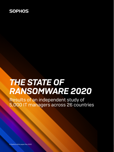image from The State of Ransomware 2020