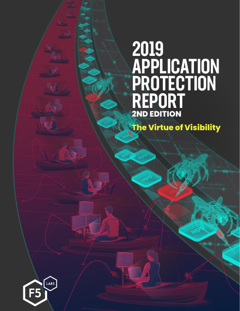 image from 2019 Application Protection Report, 2nd Edition: The Virtue of Visibility
