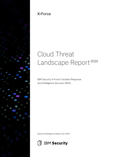image from Cloud Threat Landscape Report 2020