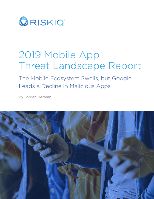 image from 2019 Mobile App Threat Landscape Report