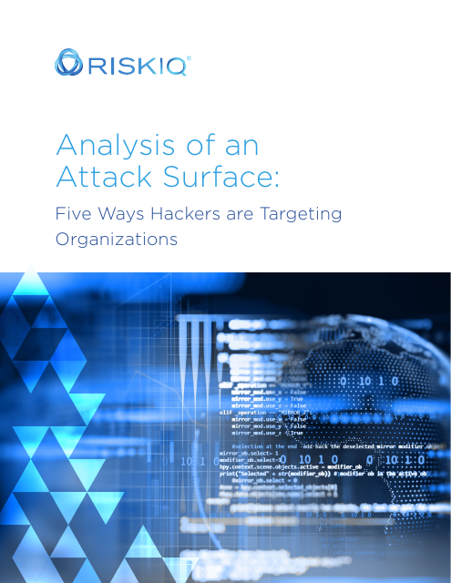 image from Analysis of an Attack Surface: Five Ways Hackers are Targeting Organizations