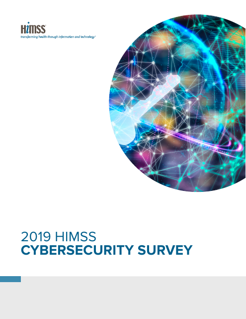 image from 2019 HIMSS Cybersecurity Survey