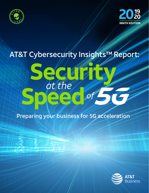 image from Cybersecurity Insights Volume 9: Security at the Speed of 5G