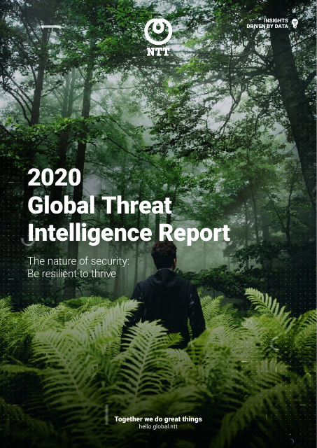 image from 2020 Global Threat intelligence Report