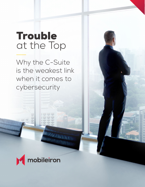 image from Trouble at the Top: Why the C-Suite is the weakest link when it comes to cybersecurity