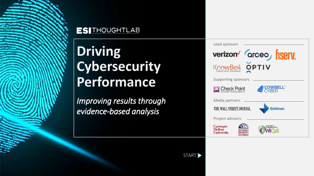 image from Driving Cybersecurity Performance