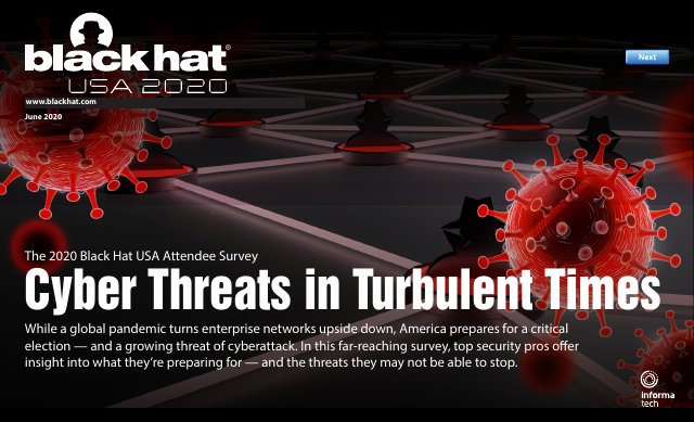 image from BlackHat USA Attendee Survey: Cyber Threats in Turbulent Times