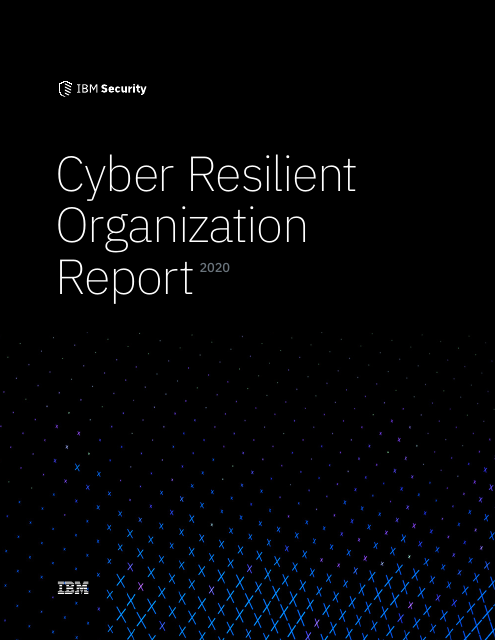 image from Cyber Resilient Organization Report 2020