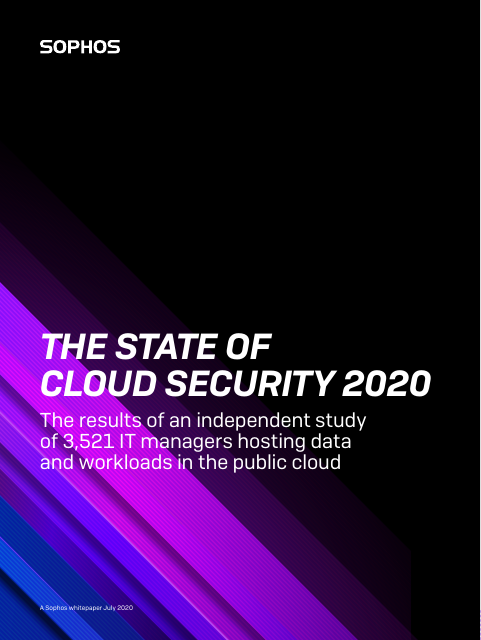 image from The State of Cloud Security 2020
