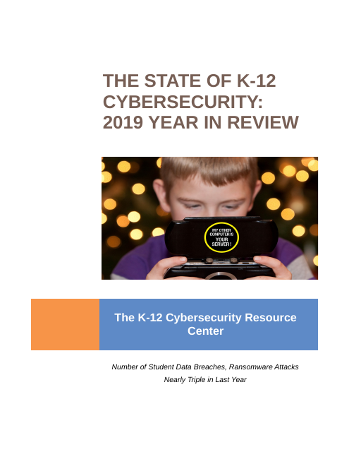 image from The State of K-12 Cybersecurity: 2019 Year in Review