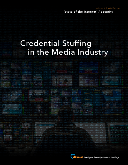 image from State of the Internet: Credential Stuffing in the Media Industry