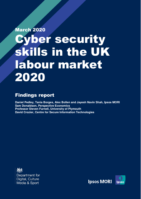 image from Cyber security skills in the UK labour market