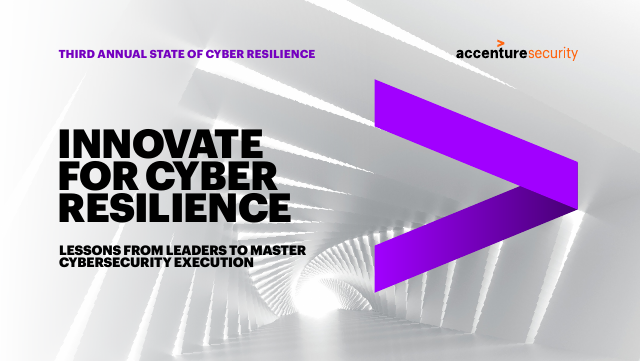 image from 2020 State of Cyber Resilience: Innovate for Cyber Resilience