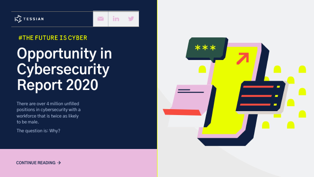 image from Opportunity in Cybersecurity Research Report 2020
