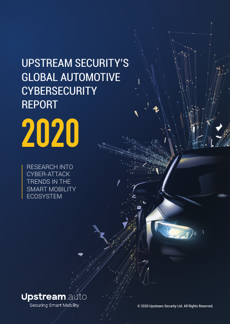 image from Upstream Security's Global Automotive Cybersecurity Report 2020