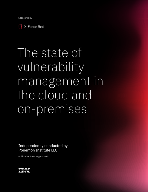 image from The state of vulnerability management in the cloud and on-premises