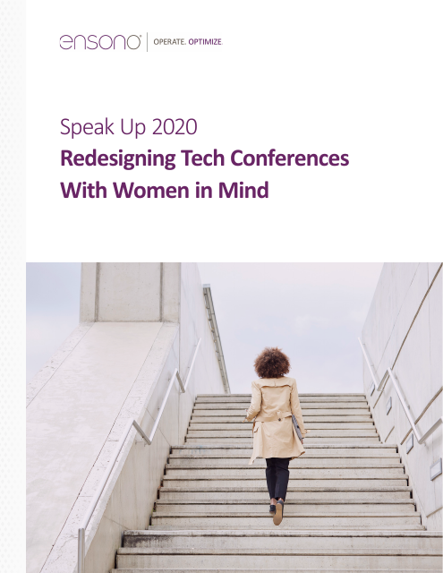image from Redesigning Tech Conferences With Women in Mind