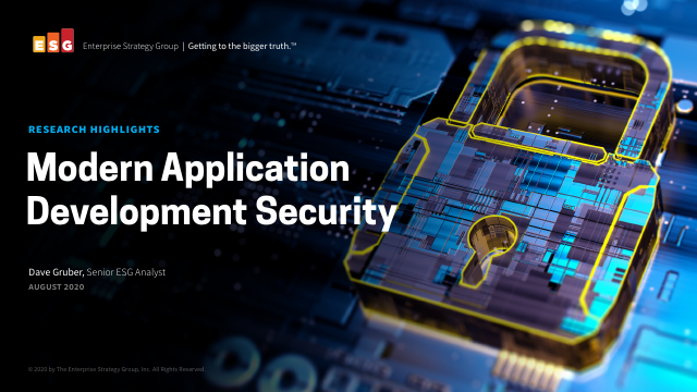 image from Modern Application Development Security