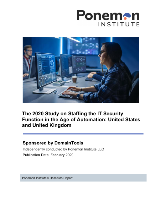 image from The 2020 Study on Staffing the IT Security Function in the Age of Automation: United States and United Kingdom