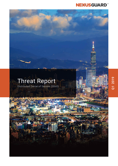 image from DDoS Threat Report Q1 2019