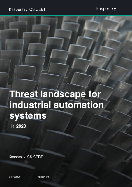 image from Threat Landscape for Industrial Automation Systems H1 2020