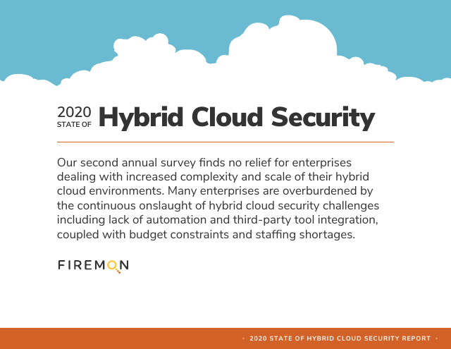 image from 2020 State of Hybrid Cloud Security