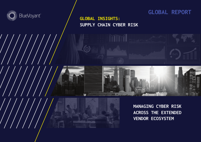image from Global Insights: Supply Chain Cyber Risk