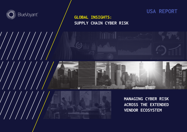 image from Global Insights: Supply Chain Cyber Risk - USA