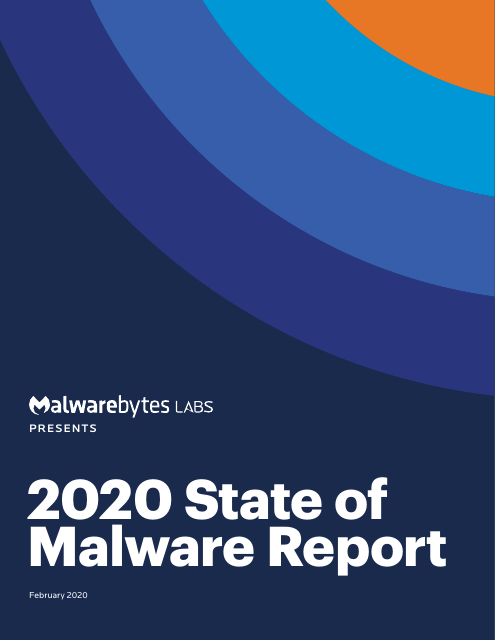 image from 2020 State of Malware Report