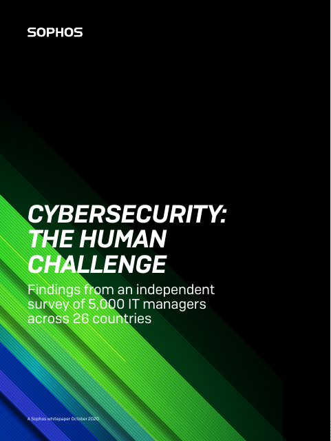 image from Cybersecurity: The Human Challenge