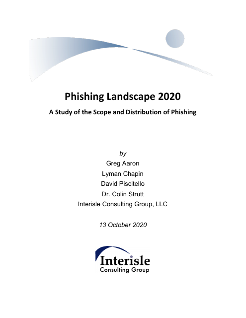 image from Phishing Landscape 2020: A Study of the Scope and Distribution of Phishing