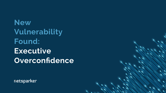 image from New Vulnerability Found: Executive Overconfidence