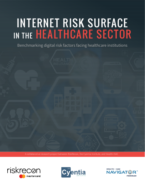 image from Internet Risk Surface in the Healthcare Sector